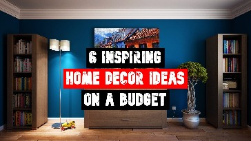 6 Inspiring Home Decor Ideas On A Budget Title Pic